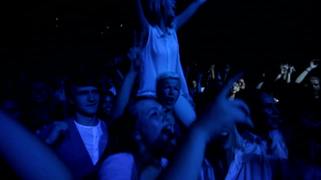 This crowd's going wild! video