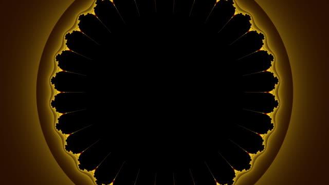 Spider's web fractal movie hd video video