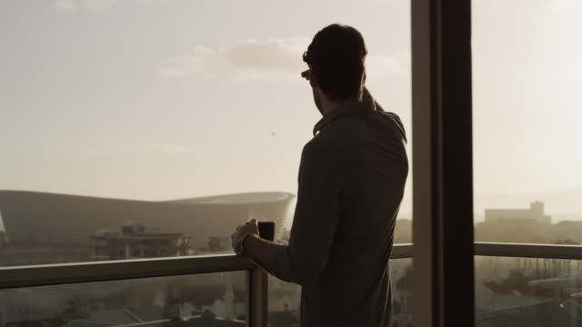 this view is something to wake up to - balcone video stock e b–roll