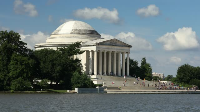 Thomas Jefferson memorial in Washington DC USA