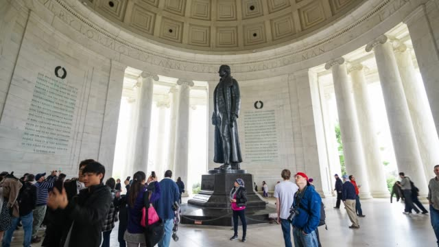 Thomas Jefferson Memorial, in Washington, DC, USA video