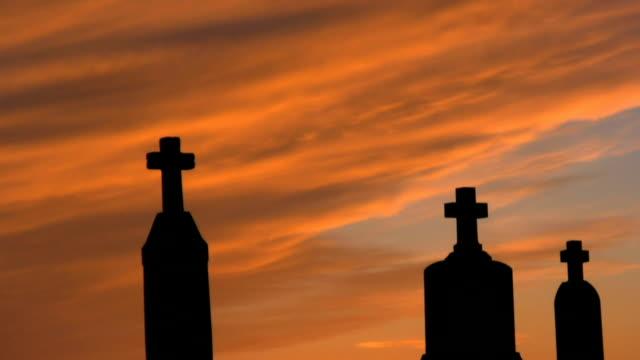 Three Crosses at Sunset video