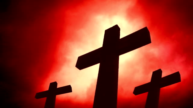 Three crosses. HD, NTSC, PAL video