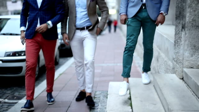 three fashion bloggers - business suit stock videos & royalty-free footage