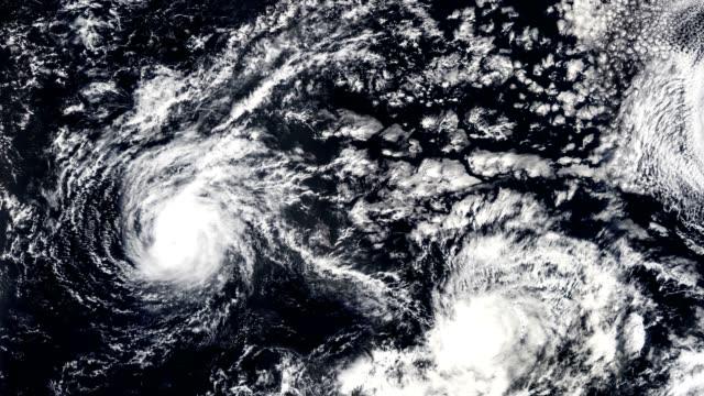 三颶風, 風暴龍捲風, 衛星看法。nasa 提供的這段視頻的一些元素。 - golden ratio 個影片檔及 b 捲影像