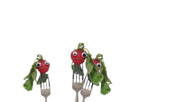 Three Radish Faces video