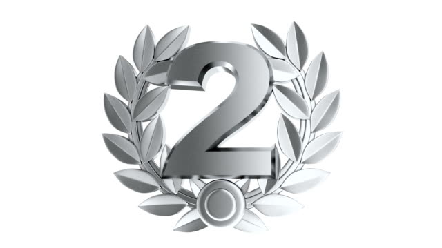 three top symbol winner and alpha channel. one, two, three. - championship stock videos & royalty-free footage
