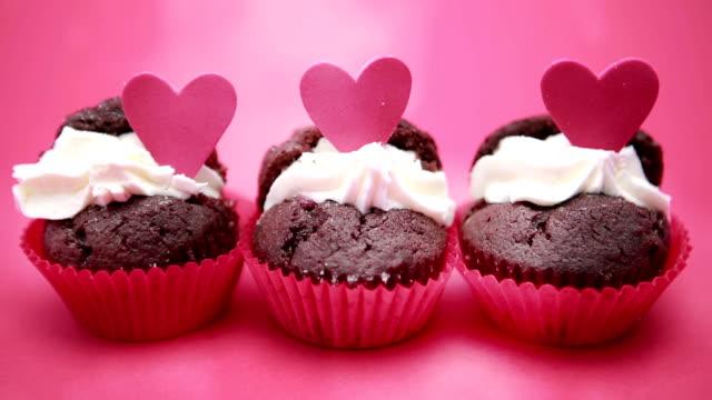 Drei valentines cupcakes – Video