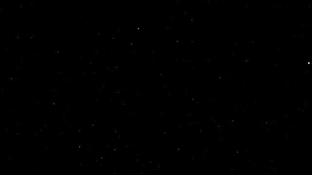 Through the star sky video