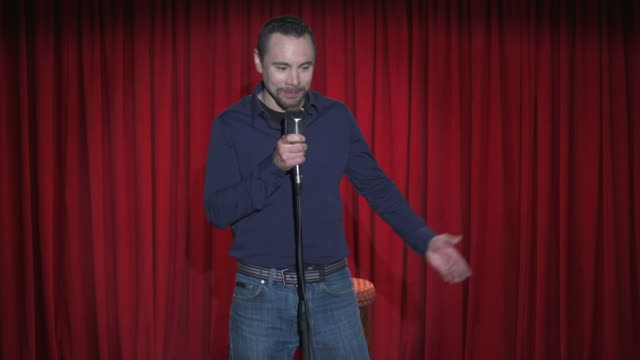 HD: Throwing Trash At Stand Up Comedian video