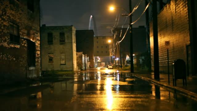 burza z piorunami - st louis filmów i materiałów b-roll
