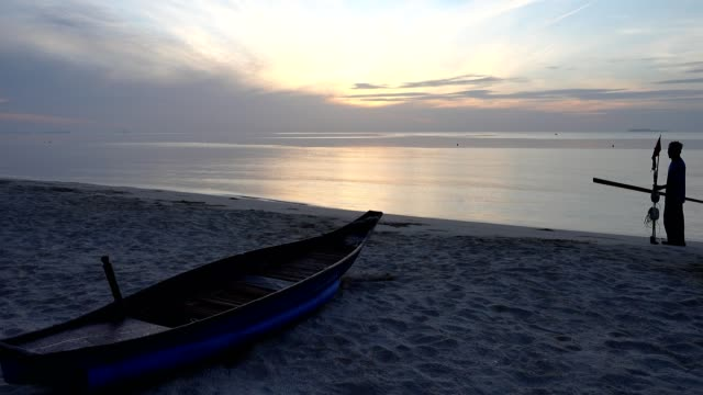 Thung Wao Lan beach, Chumphon, Thailand. video