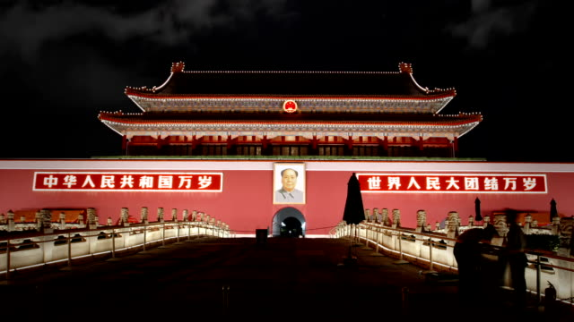 Tiananmen, Gate of Heavenly Peace, Beijing video
