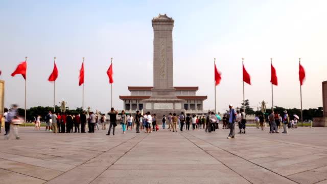 La Plaza de Tiananmen de Pekín - vídeo