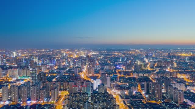 Tianjin cityscape hyperlapse video