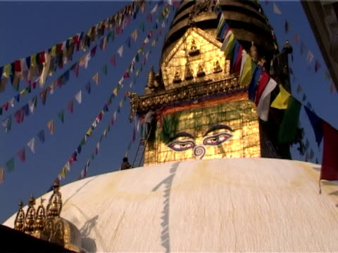 Tibetan prayer flags video