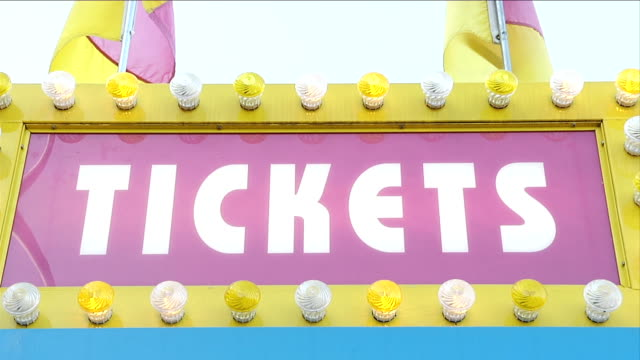 Ticket Booth Sign video