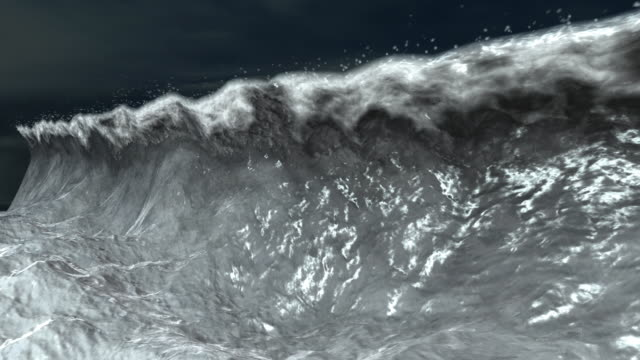 Tidal Wave Animation video