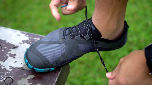 Tie Minimalist Running Shoe video