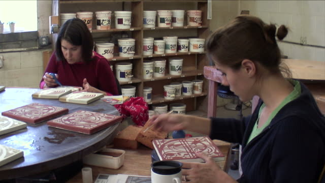 Tile Painting 06 video