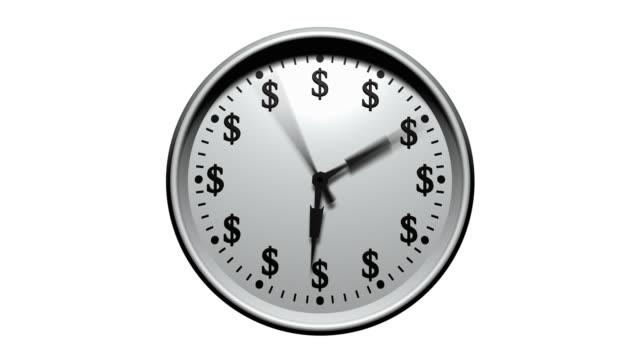 Time Is Money - Dollar Clock video