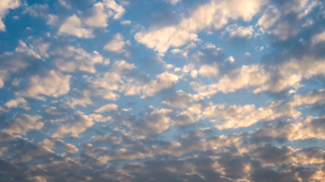 Time Lapse - 3 Colours Cloudscape at Sunset video