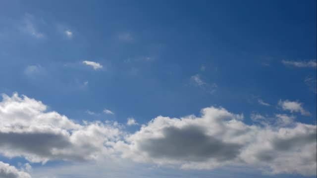cloudscape の時間経過 4 k クリップ - 気象学点の映像素材/bロール