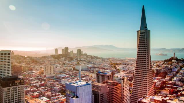 Time Lapse -  Amazing San Francisco Skyline at Dusk