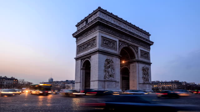 HD Time Lapse : Arch of Triumph video