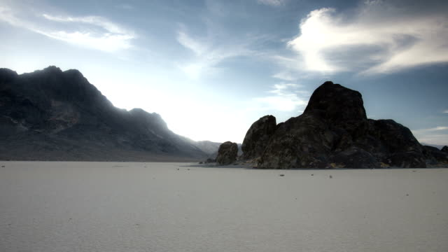 """vídeos de stock e filmes b-roll de time lapse no """"grandstand"""" no vale da morte - parque nacional do vale da morte"""