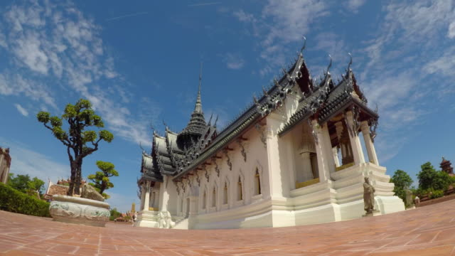 Time Lapse Beautiful Temple , Thailand video
