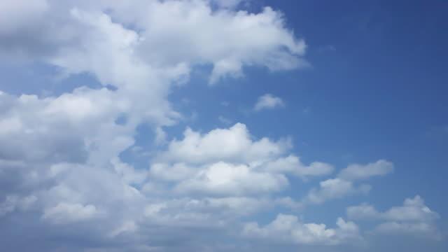 Time Lapse Céu Azul e Nuvens. - vídeo