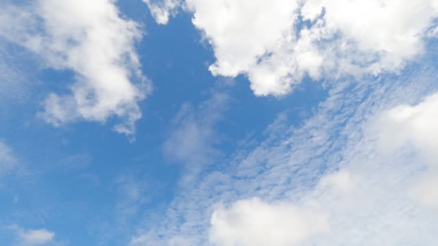 Time lapse blue sky with clouds background .Sky with clouds weather nature cloud blue.