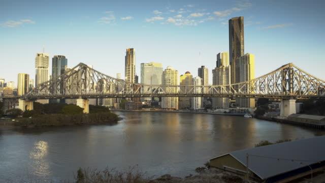 Time lapse City Skyline at Sunrise video