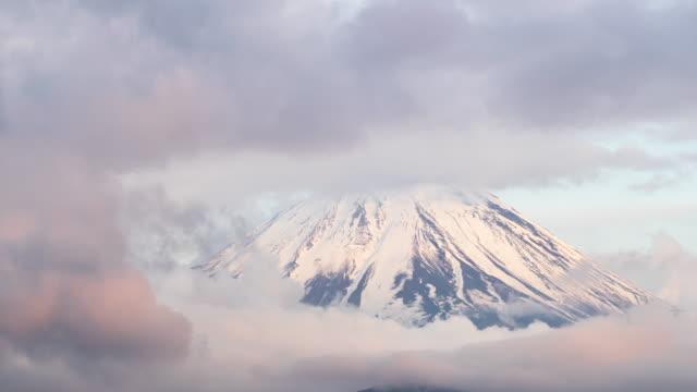 vidéos et rushes de time-lapse près du mont fuji - fuji yama