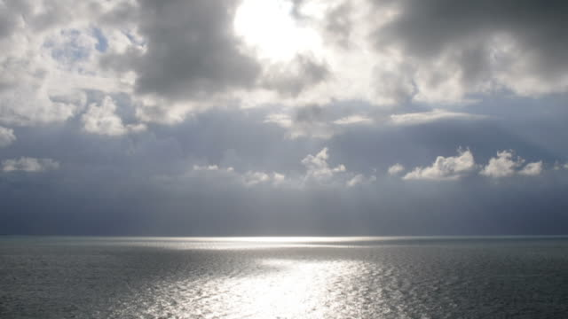 Time Lapse Clouds at Sea video