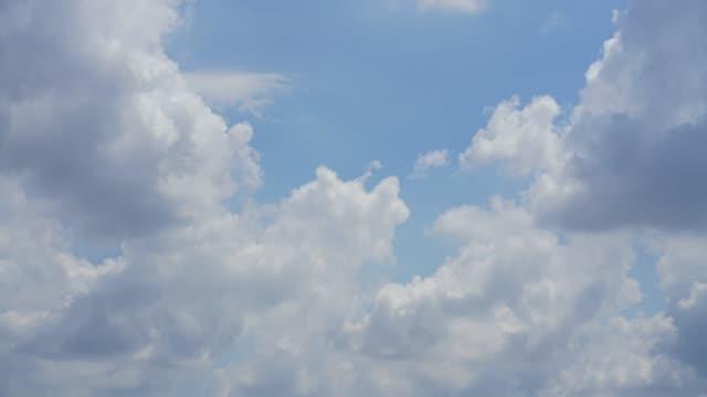 時間経過雲-日の時間に移動する空の動き。 - 層積雲点の映像素材/bロール