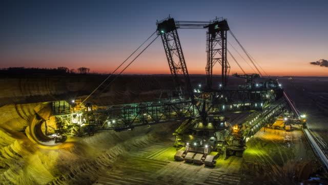 Time Lapse: Coal Mining video