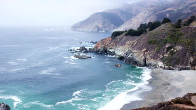 Time Lapse - Coastline of California video