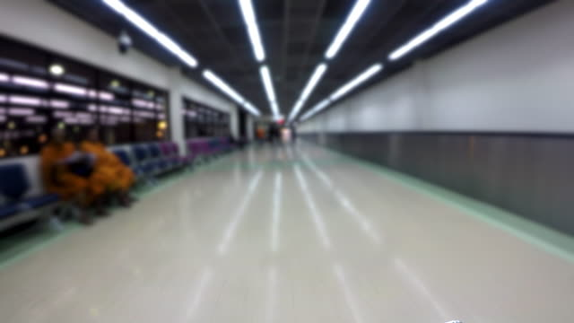4K Time lapse Don Muang Airport video