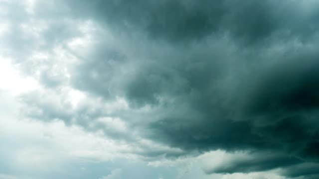 Time lapse : Dramatic Storm Cloud video