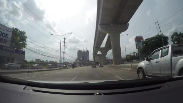 vídeos y material grabado en eventos de stock de lapso de tiempo de 4k conducir coches en el camino - oakland