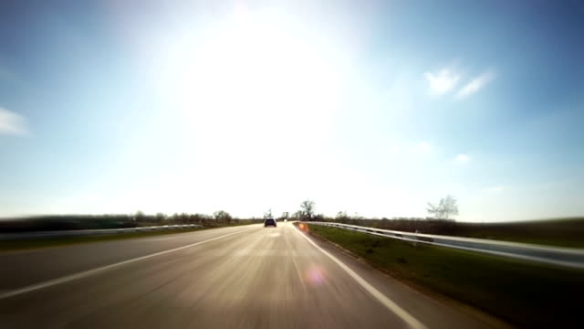 Time lapse: Driving video