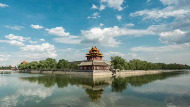 Time Lapse- Forbidden City, Beijing (WS LA Panning) video