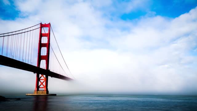 Time Lapse - Golden Gate Bridge in Fog