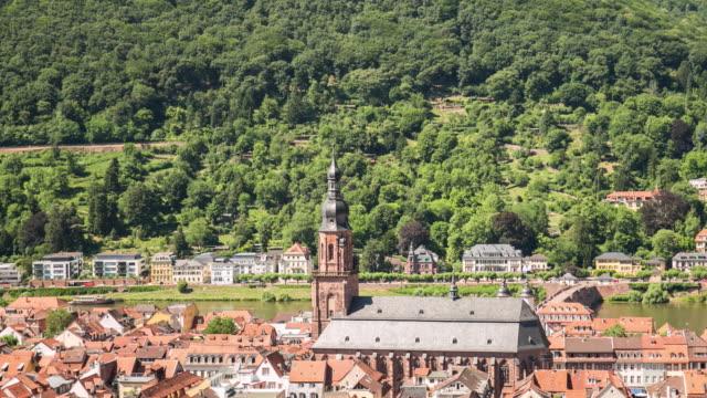 4K Time Lapse : Heidelberg video