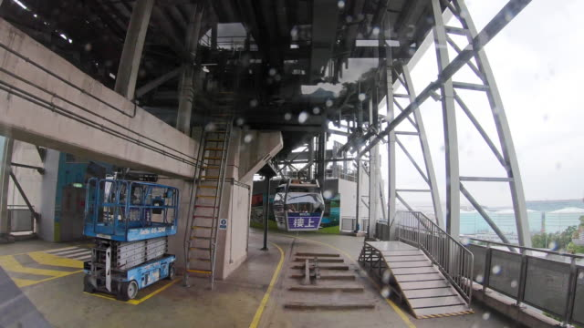 Time Lapse Hong Kong Cable Car, Big Buddha Trail and 360-degree Viewpoint