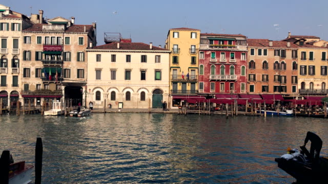 4K Time Lapse in Grand Canal, Venice video