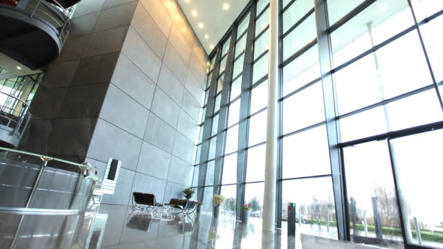 Time lapse in modern business offices