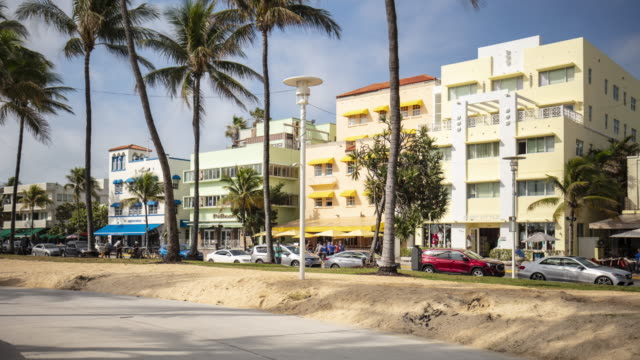 Time lapse in Ocean Drive